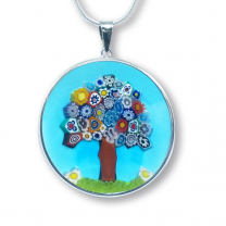 Murano Glass Pendant - Murrina Albero