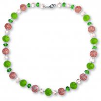 Murano Glass Necklace - Lucia Rosa