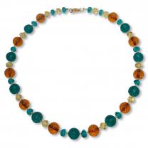 Murano Glass Necklace - Lucia