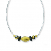 Murano Glass Necklace – Oliva Gold