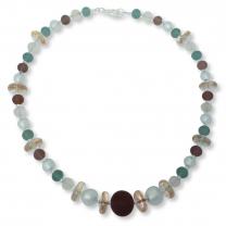 Murano Glass Necklace - Shari