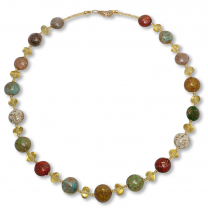 Murano Glass Necklace - Aria