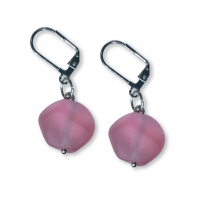 Murano Glass Earrings - Nerina Cerise