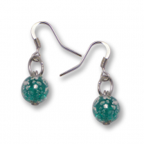 Murano Glass Earrings - Brina Aquamarine