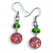 Murano Glass Earrings - Lucia Rosa