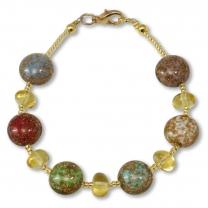 Murano Glass Bracelet - Aria