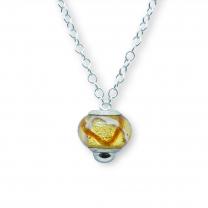 Murano glass charm bead necklet – Venezia Tre