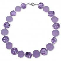 Nerina Lila Murano Glass Necklace