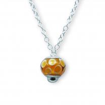 Murano glass charm bead necklet  – Venezia Otto