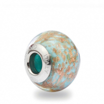 Murano Glass Charm Bead - Diciotto