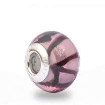 Murano Glass Charm Bead - Ventiquattro