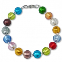Murano Glass Bracelet - Gianna