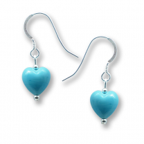 Murano Glass Heart Earrings - Julietta