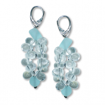 Murano Glass Earrings - Piera Crystallo