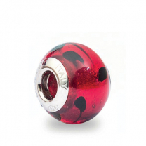 Murano Glass Charm Bead - Quattordici