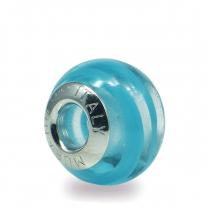 Murano Glass charm bead - Undici-blu