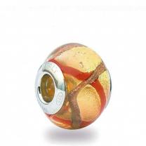 Murano Glass Charm Bead - Trentadue