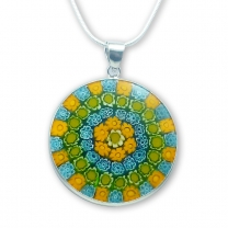 Murano Glass Pendant - Murrina Tuscany
