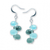 Murano Glass Earrings - Alba Uno