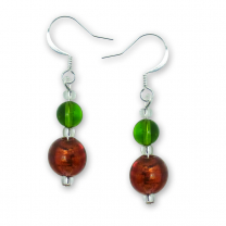 Murano Glass Earrings - Alessandra