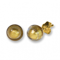 Murano Stud Earrings - Esta Gold