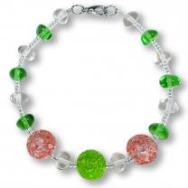 Murano Glass Bracelet - Lucia Rosa