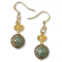 Murano Glass Earrings - Aria