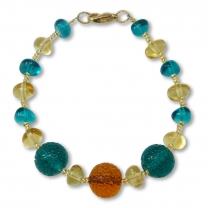 Murano Glass Bracelet - Lucia
