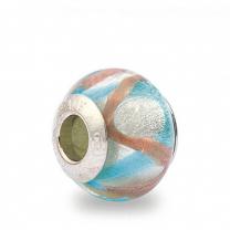 Murano Glass Charm Bead - Ventuno