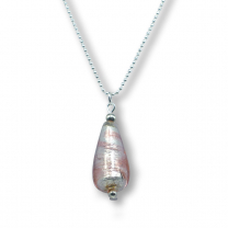 Murano glass pendant - Raffaela 'drop'