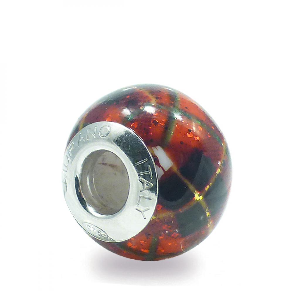 Murano Glass Charm Bead - Trentaquattro Photo