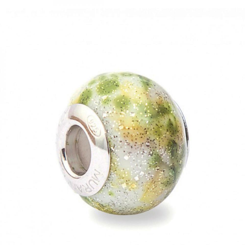 Murano Glass Charm Bead - Diciassette Photo