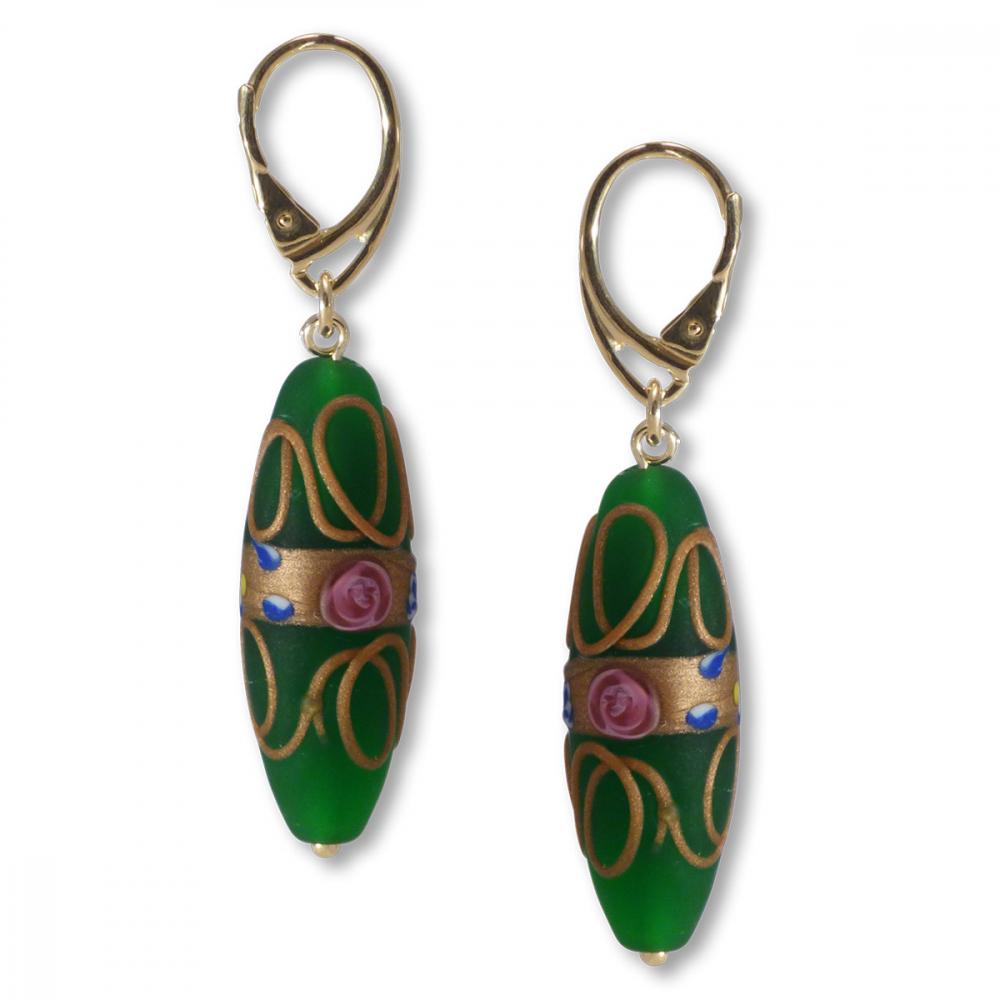 Murano Glass Earrings - Giola Photo