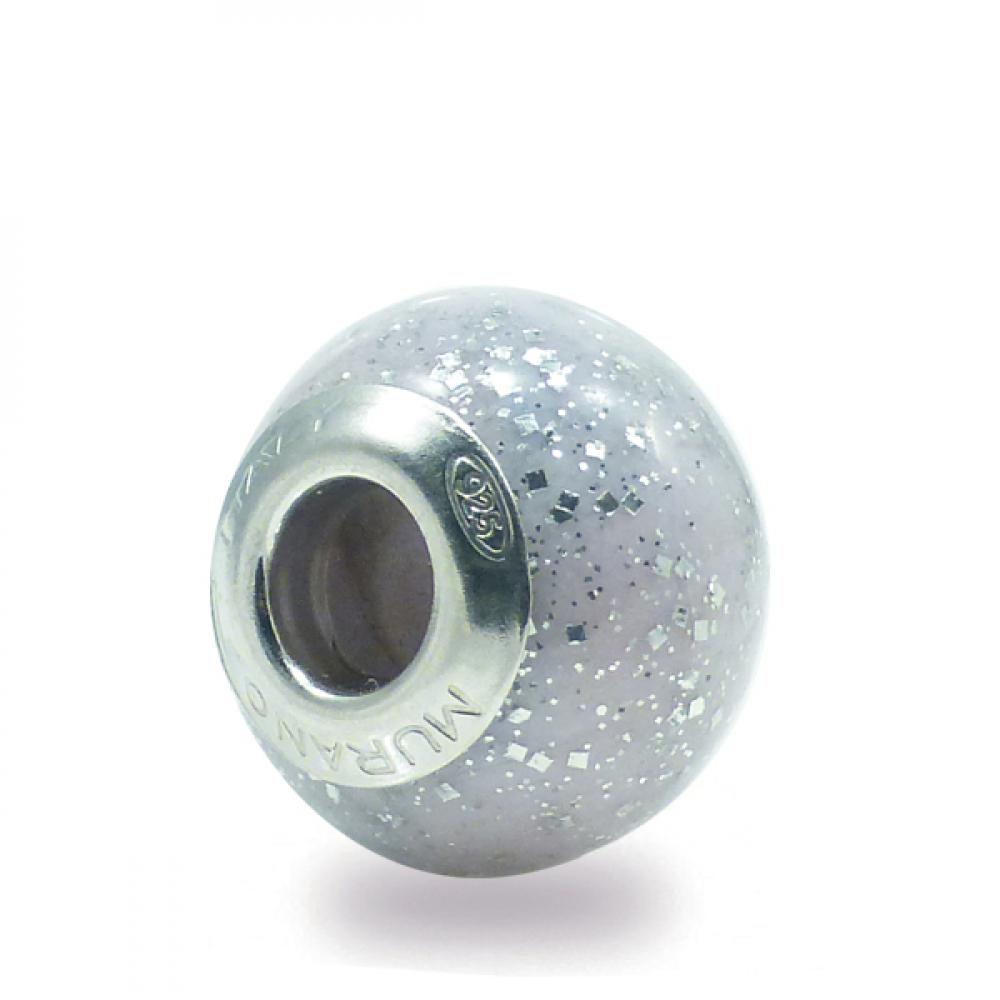 Murano Glass Charm Bead - Trentasette Photo
