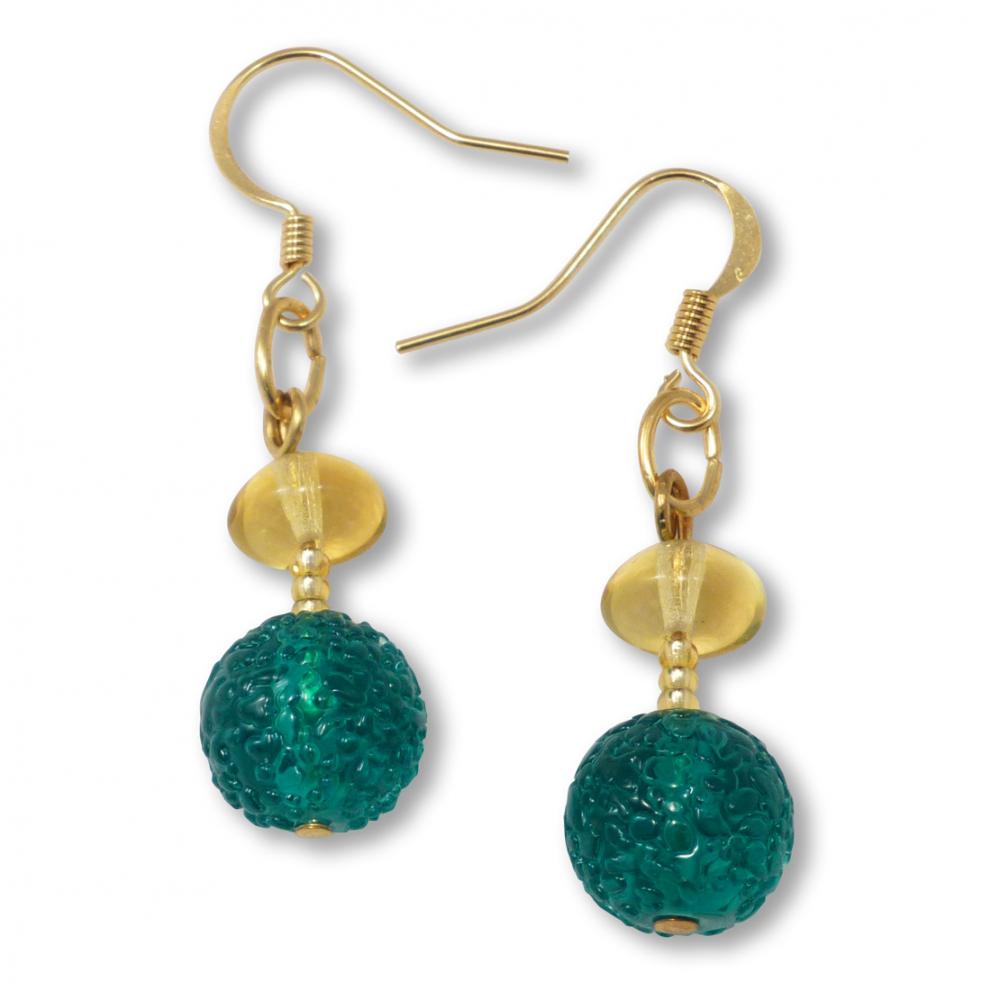 Murano Glass Earrings - Lucia Photo