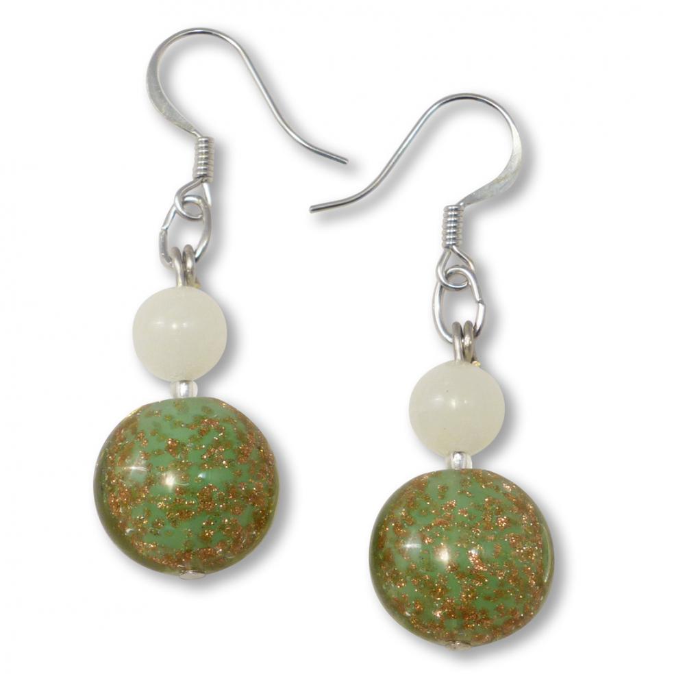 Murano Glass Earrings - Allegra Photo