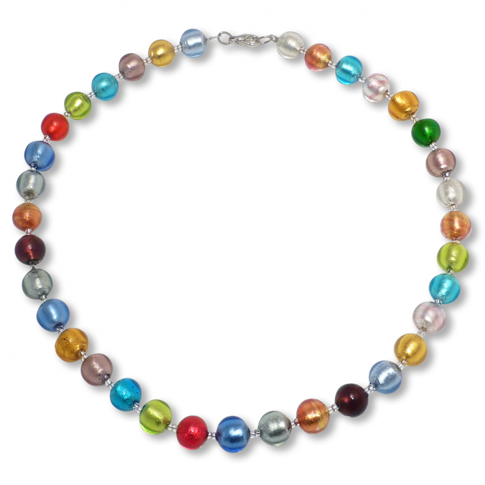 Murano Glass Necklace - Gianna Photo