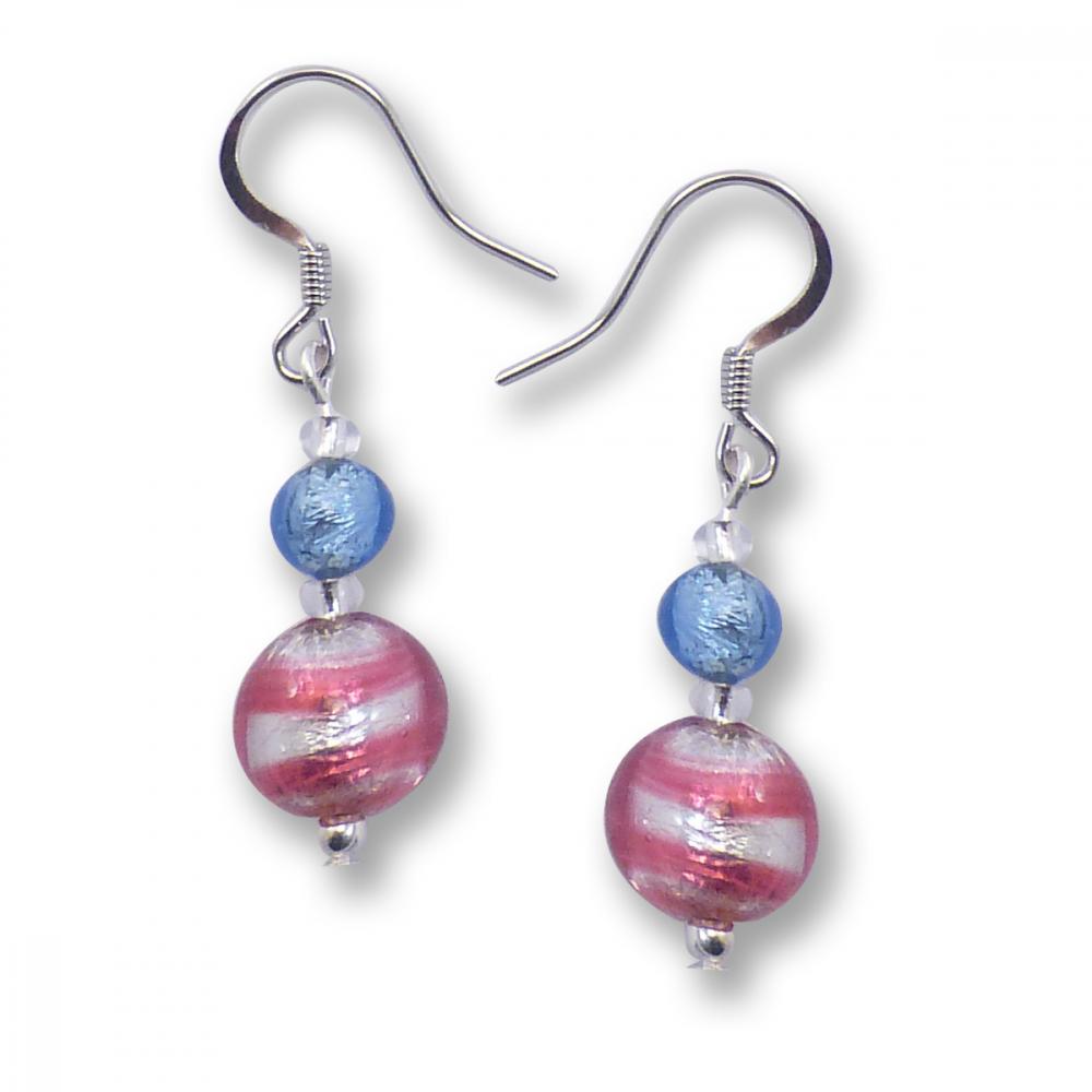 Murano Glass Earrings - Raffaela Photo