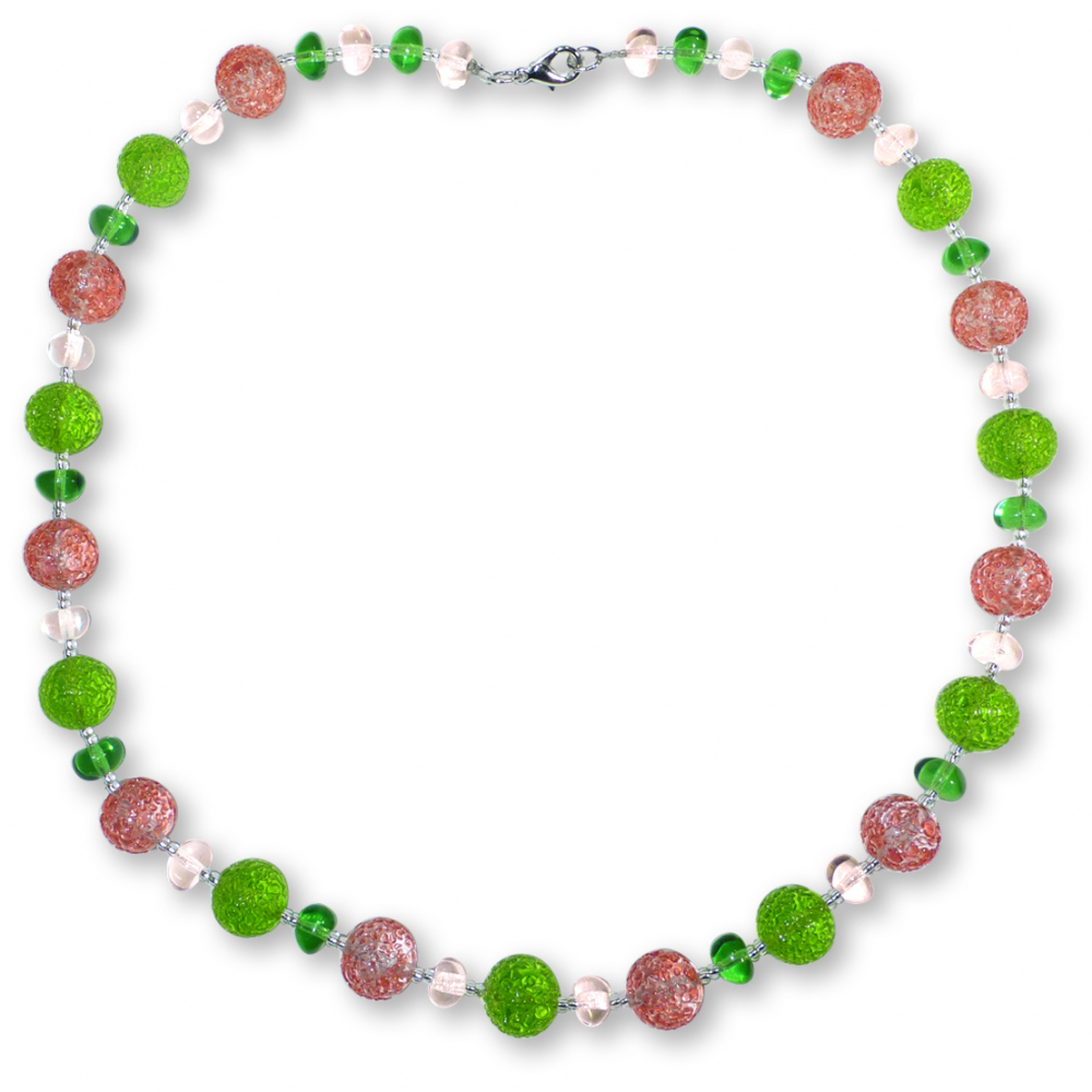Murano Glass Necklace - Lucia Rosa Photo