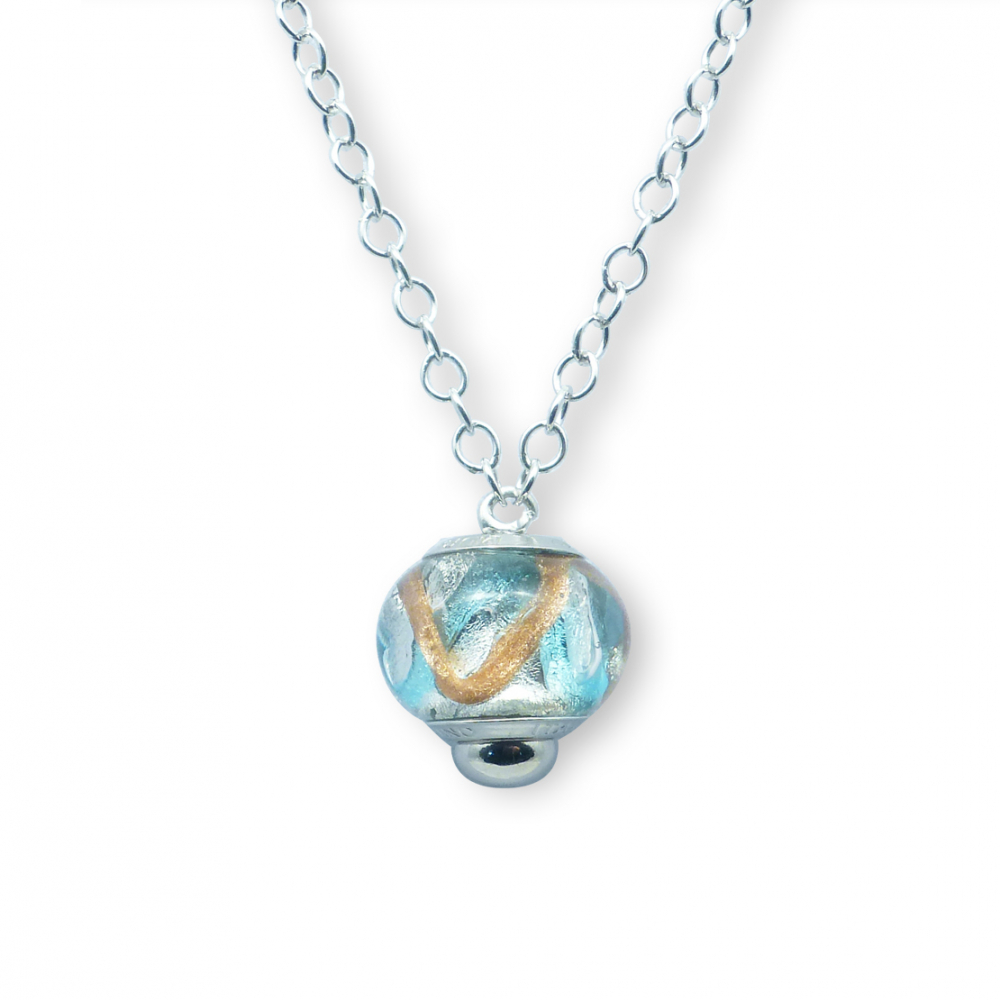 Murano glass charm bead necklet – Venezia Ventuno Photo