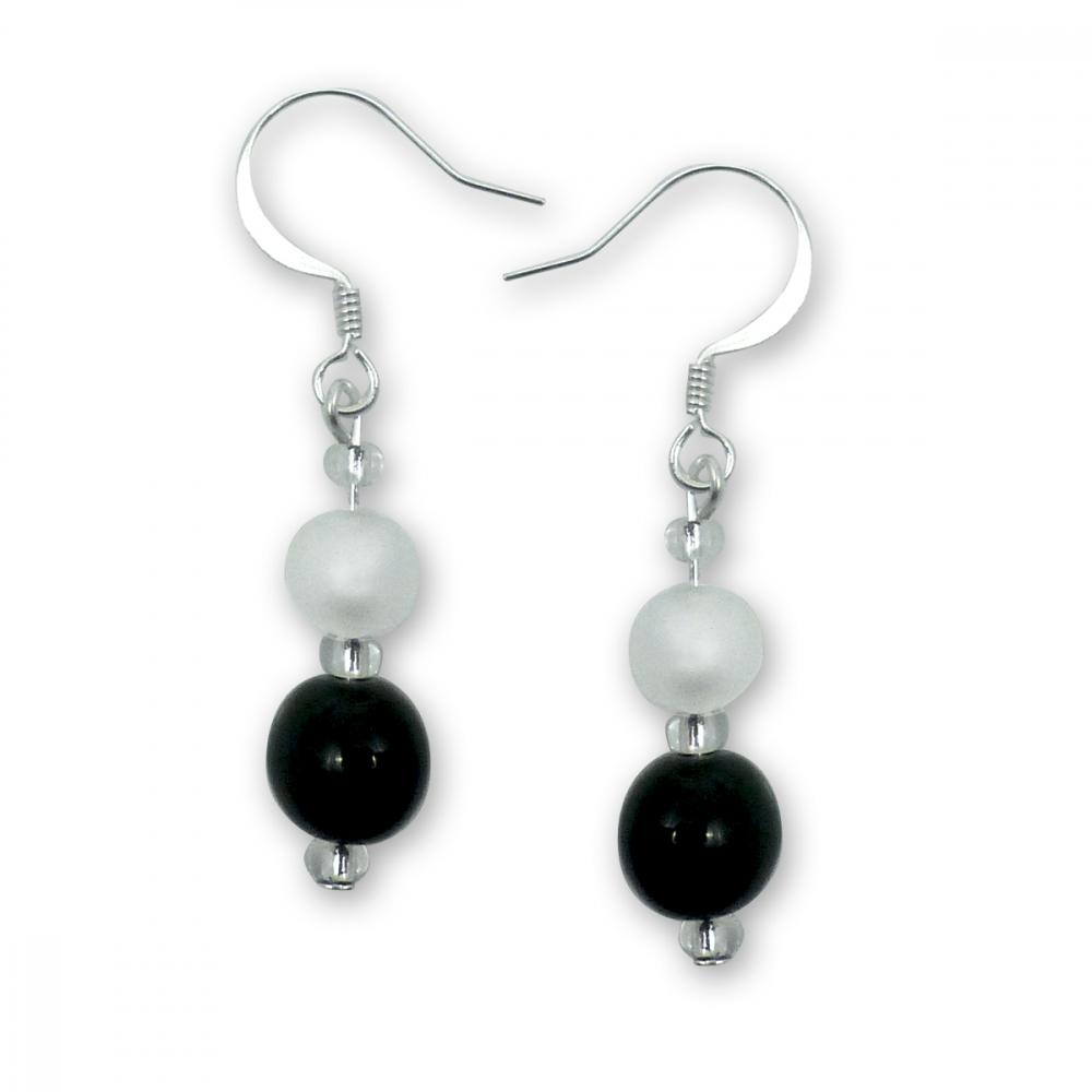 Murano Glass Earrings - Gaia Argenta Photo