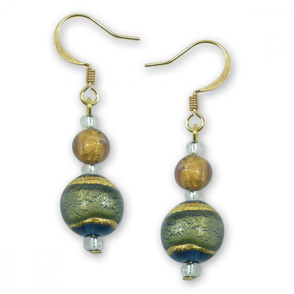 Murano Glass Earrings - Serafina Photo
