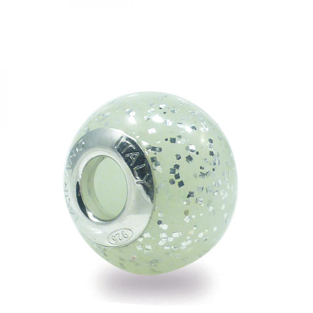 Murano Glass Charm Bead - Ventitre Photo