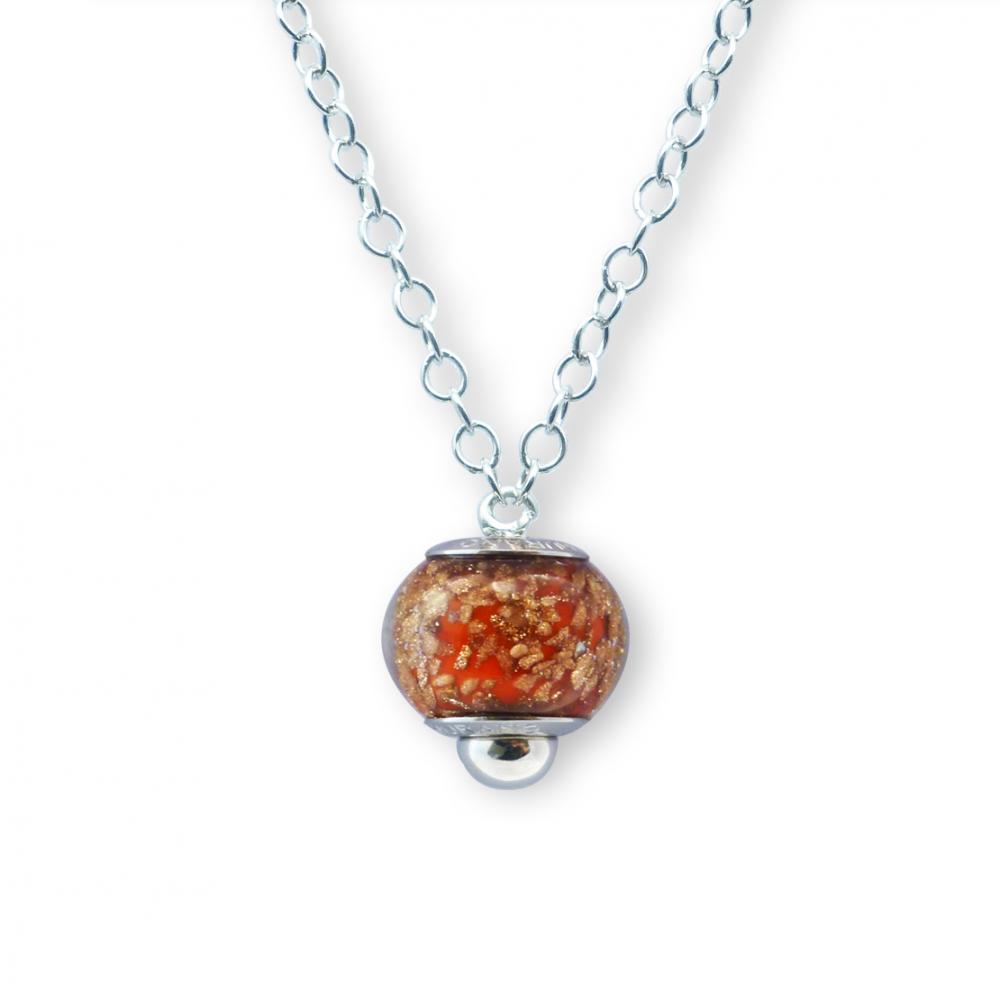 Murano glass charm bead necklet – Venezia Venticinque Photo