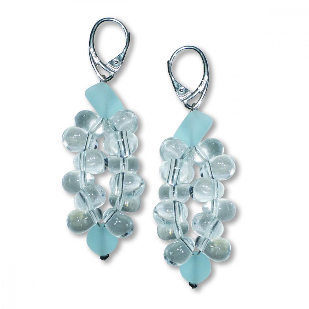 Murano Glass Earrings - Piera Crystallo Photo