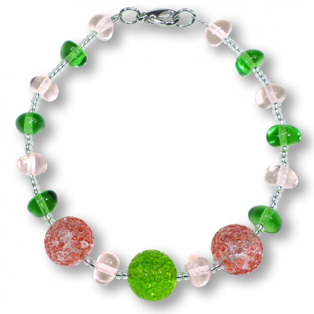 Murano Glass Bracelet - Lucia Rosa Photo