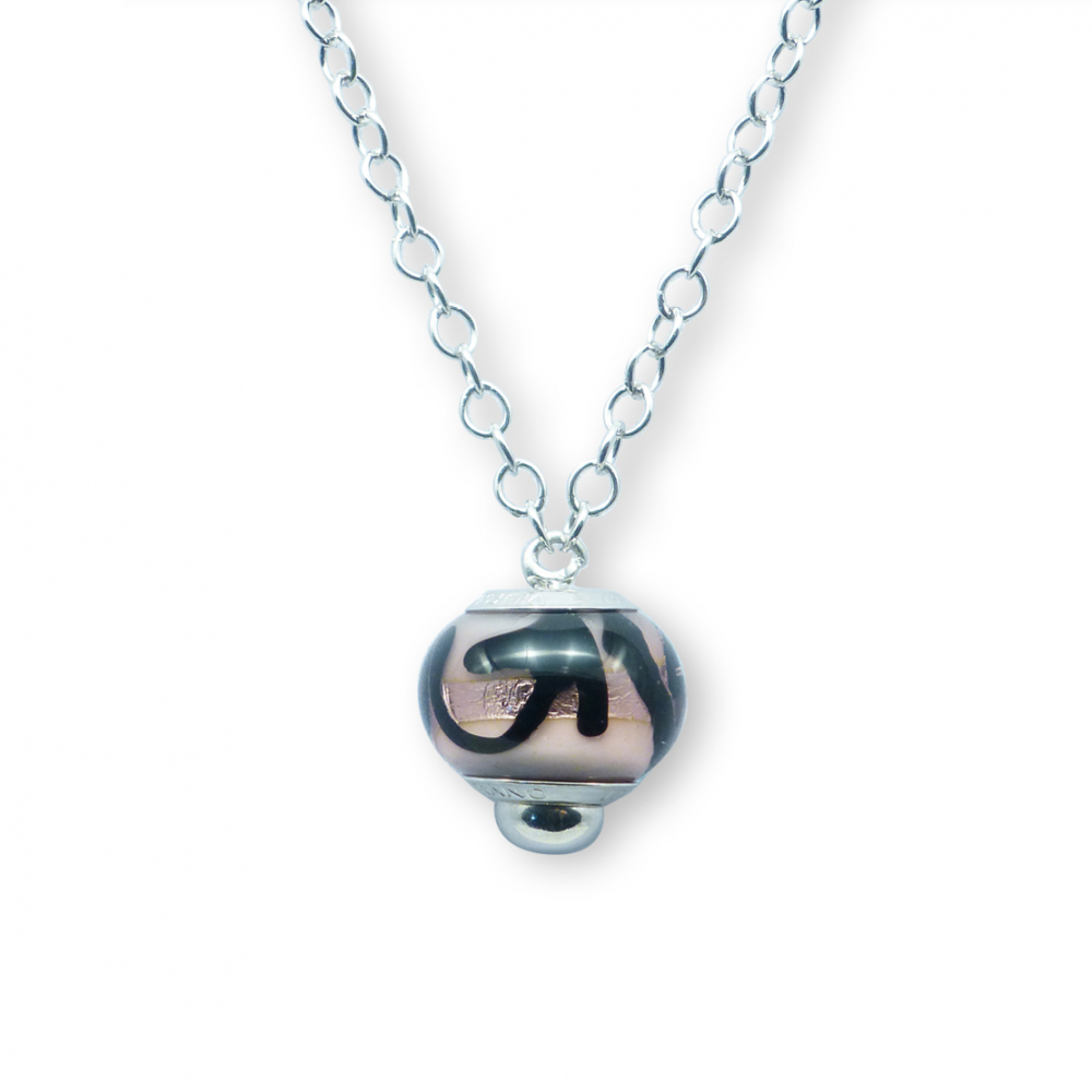 Murano glass charm bead necklet – Venezia Ventiquattro Photo