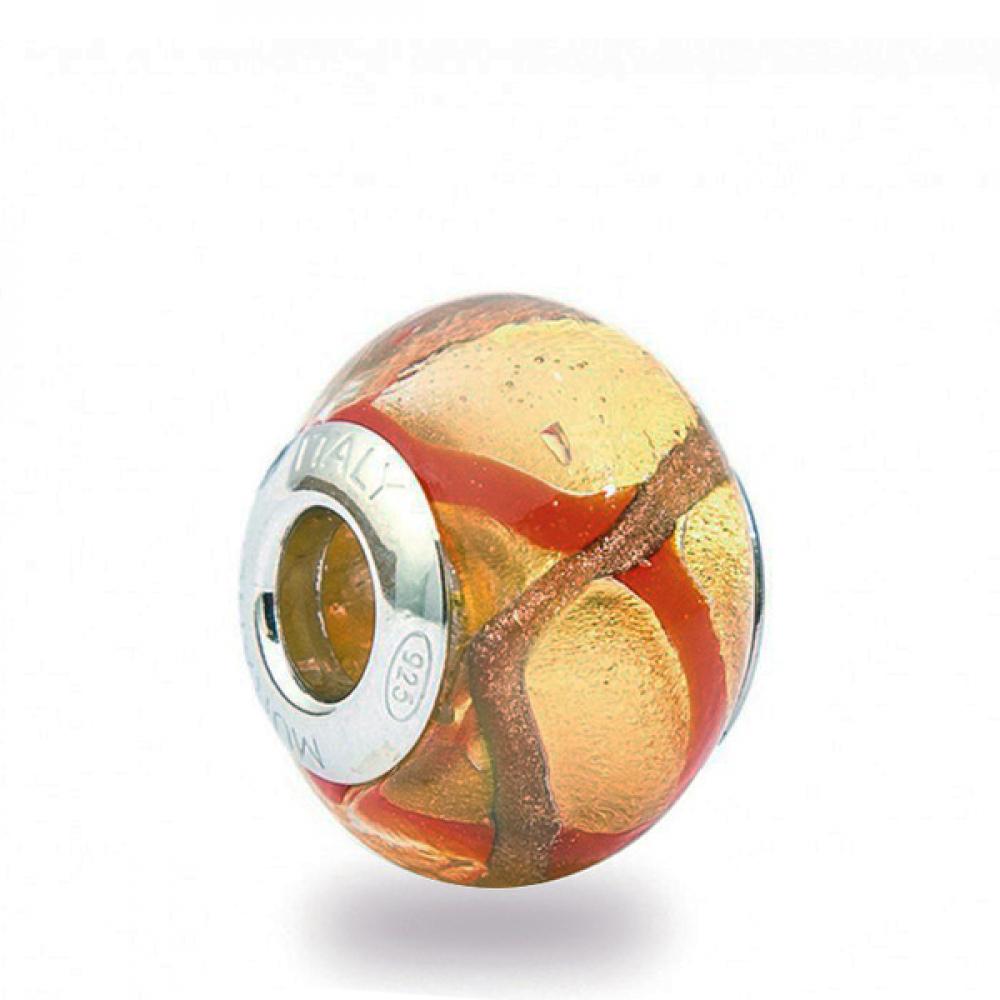 Murano Glass Charm Bead - Trentadue Photo