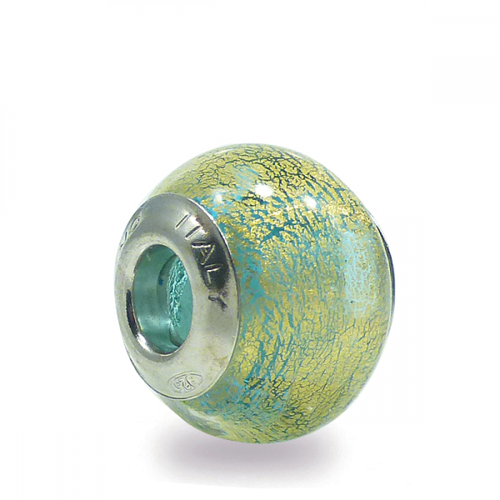 Murano Glass Charm Bead - Trentuno Photo