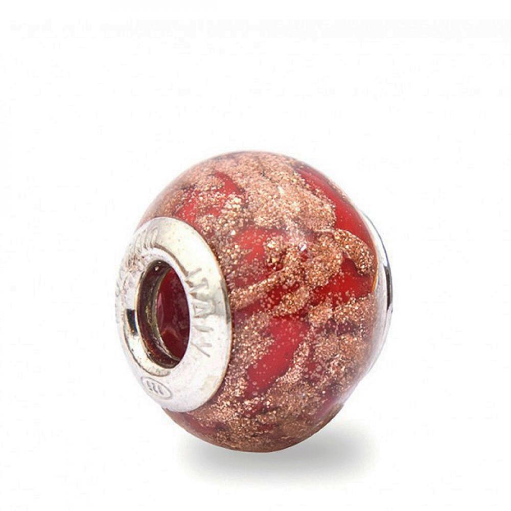 Murano Glass Charm Bead - Venticinque Photo